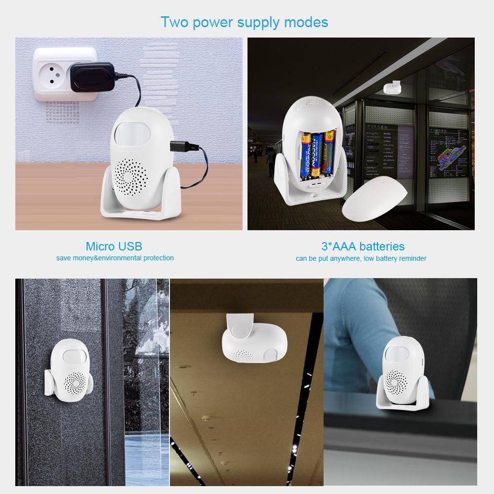 KERUI Alarma de seguridad para el hogar Alerta PIR Infrarrojo - Seguridad y protección - foto 6