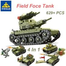 KAZI 84055 Military Army Soldier Series 4 IN 1 Transformatio