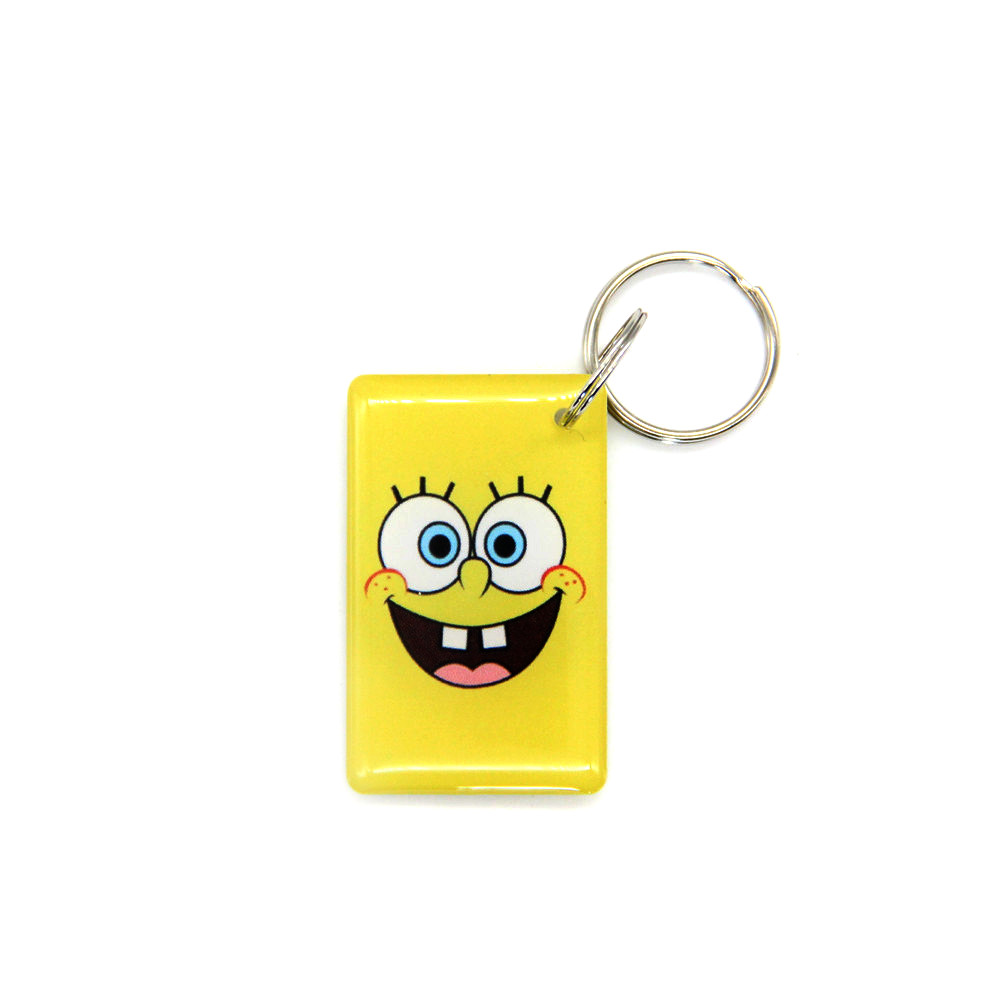 EM4305 EM4205 Rewritable Writable RFID Keyfob Key Fobs 125khz ID Access Card Keychain Key Token Tag Chain Fob Ring Buckle Badge 1pcs