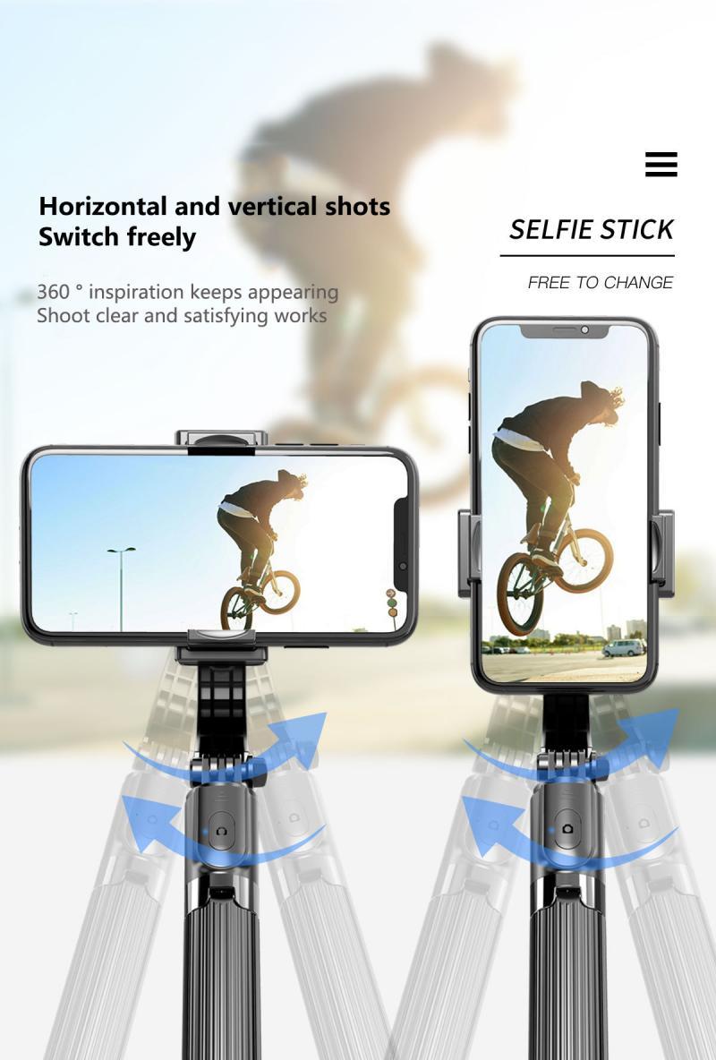 Tongdaytech trípode de palo de Selfie 3 en 1, Estabilizador de cardán de  mano antivibración para Iphone, Samsung, Xiaomi, Estabilizador de teléfono  inteligente|palos de selfie| - AliExpress