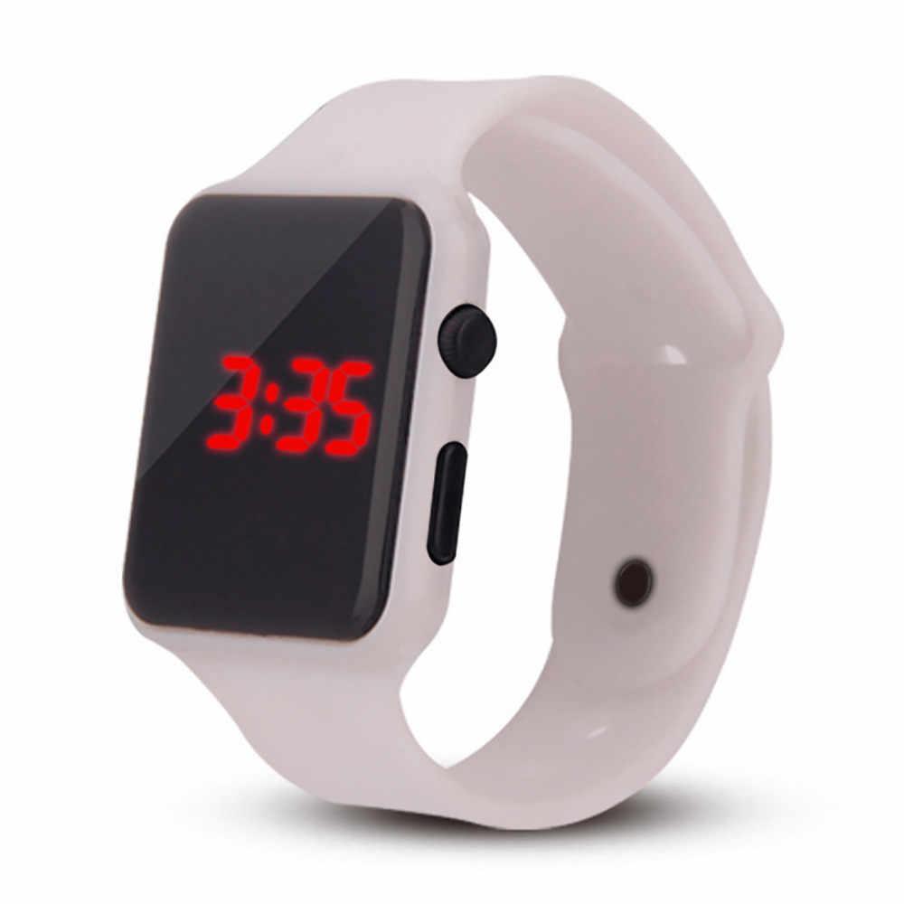 Relógio esportivo eletrônico com ajuste reloj deportivo caliente relgio desportivo relógio de pulso