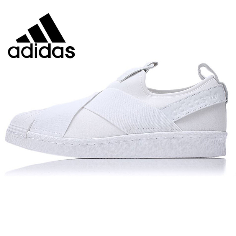 Original <font><b>Adidas</b></font> <font><b>SUPERSTAR</b></font> SlipOn <font><b>Unisex</b></font> Skateboarding Shoes Sneakers Outdoor Sports Athletic Footware New Arrival 2019 BZ0112 image