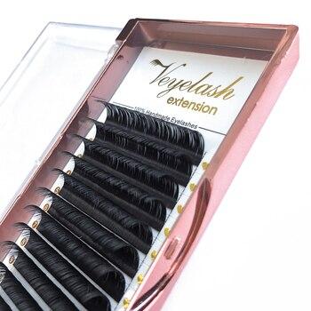 Veyelash Individual Eyelash Extension Mink Lashes Russian Volume Lashes Synthetic Hair Soft Eyelash Extensions Makeup Tools 4