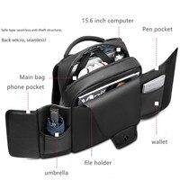 Laptop Backpack Men Backpacks Business Notebook schoolbag Waterproof Back Pack USB Charging school bags Travel Bagpack Tablet