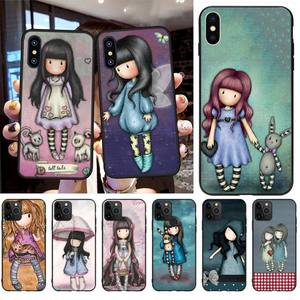 PENGHUWAN Santoro Gorjuss cute cartoon girl Phone Case for iPhone 11 pro XS MAX 8 7 6 6S Plus X 5S SE XR case(China)