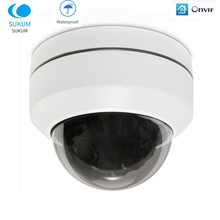 5MP Outdoor IP PTZ Camera POE H.265 Pan/Tilt/Zoom 4X Optical Zoom ONVIF Waterproof Video Surveillance Speed Dome CCTV Camera