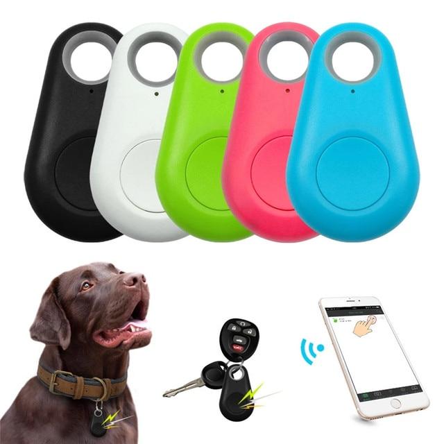 GPS Smart Tracker Mini Waterproof Bluetooth Locator For Cats - Dogs  1