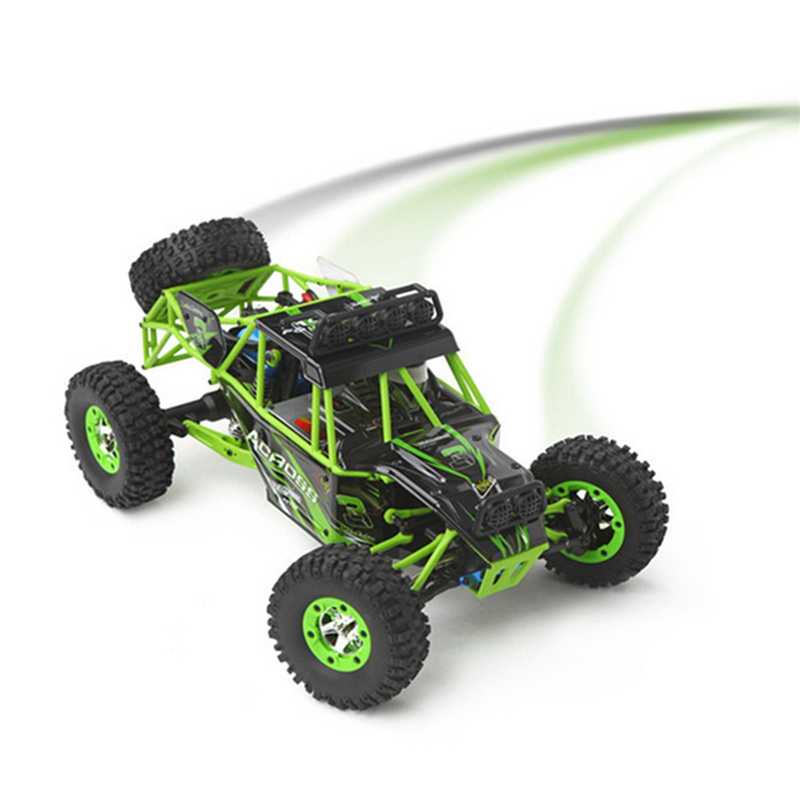 <font><b>Wltoys</b></font> <font><b>12428</b></font> Rc Car 4WD 2.4Ghz 1:12 Radio Control Crawler Off-road Car Model Toys High Speed 50km/h Vehicle With LED Light image