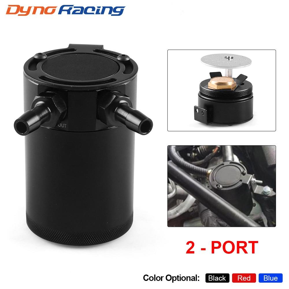 Универсальный маслоприемник, компактный алюминиевый резервуар с 2 отверстиями, детали топливного бака, Воздухопроницаемый чайник с двумя о...