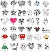 3 pièces/ensemble Petites Petites pour flottant médaillon pendentif colliers femmes argent 925 bijoux bricolage mode perles breloque pour la fabrication de bijoux
