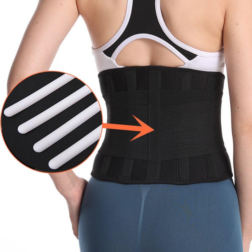 Medical Back Brace Waist Belt Spine Super Support Men Women Breathable Lumbar Corset Orthopedic Posture Corrector Pain Relief
