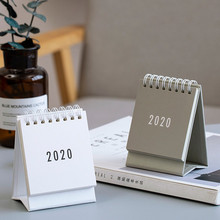 Table Calendar Weekly-Planner Office-Supplies Desktop Korean Upturn-Coil Folding Simplicity