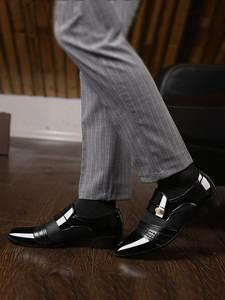 REETENE Suits Shoes Business-Dress Slip-On Oxfords Classic Men's Fashion New