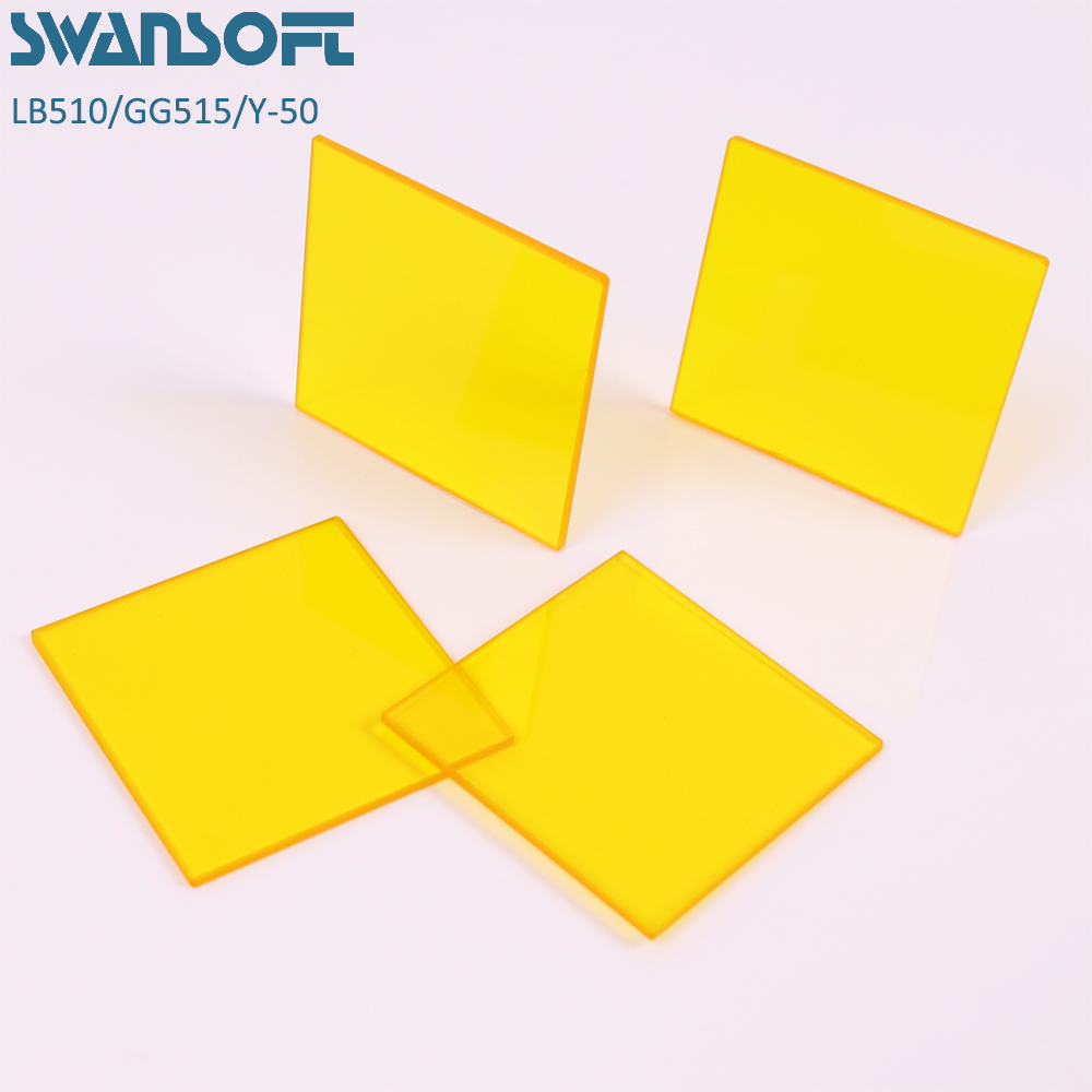 <font><b>470nm</b></font> optical longpass yellow filters image