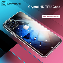 Cafele TPU Phone Case for iPhone 11 pro Max Crystal Clear soft Cover iphone max 2019