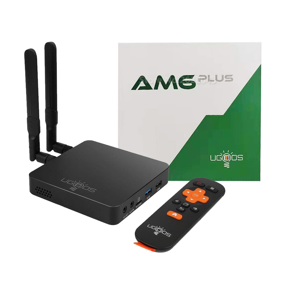 UGOOS AM6 Plus Android 9.0 TV Box Amlogic S922X-J 2.4G 5G Wifi Set Top Box 4GB DDR4 32GB 1000M LAN BT5.0 4K Media Player(China)