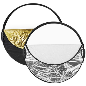 Image 2 - Selens 80CM 5 in 1 Reflector Photography Portable Light Reflector with Carring Case for photography photo studio accessories