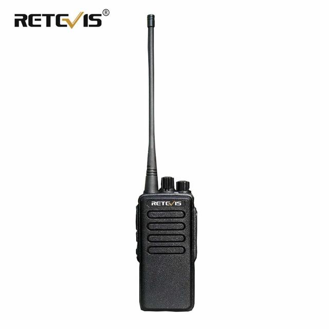 10W Powerful Walkie Talkie Retevis RT1 VHF (or UHF) VOX 3000mAh Long Range Two way Radio For Factory Warehouse Farm Security