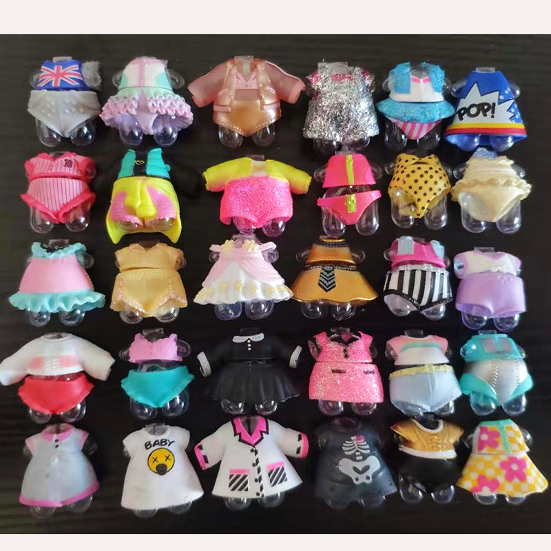 New Original LOL Doll Clothes Accessorries A Large Number Of Styles Lol Accessories On Sale LOL Dolls Collection Drop Shipping
