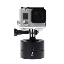 360 degree Rotating 60min Time Lapse Automatic Timer Tripod Head Photography Delay Tilt for GoPro Red Black Brown Green