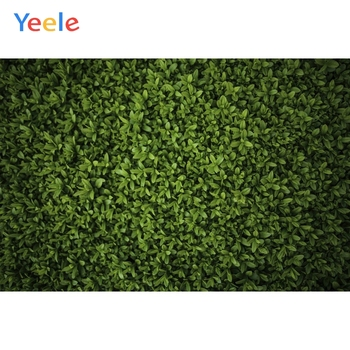 Yeele Grass Green Screen Foliage Leaves Party Decor Photography Backgrounds Customized Photographic Backdrops for Photo Studio kate photography backdrops smart watch wearable devices green screen chromakey backgrounds for photo studio