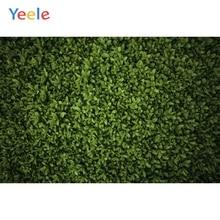 Yeele trawa zielona ekran sztuczne liście strona Decor fotografia tła dostosowane fotograficzne tła dla Photo Studio