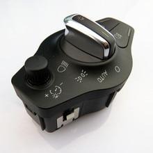 HONGGE 1Pcs Car Chrome Auto Head Light Fog Light Switch Control Knob For Q5 A5 S5 A4 S4 Avant B8 8K0 941 531 AS 8K0 941 531AS automatic headlight switch button rain sensor for audi a4 b8 q5 a5 8k0 941 531 as 8u0 955 559 b