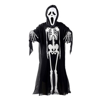Halloween Costume Skull Skeleton Demon Ghost Cosplay Costumes Adults Children & Kids Carnival Masquerade Dress Robes Scary Mask scary halloween adult cave demon mask the faun skull skeleton mask