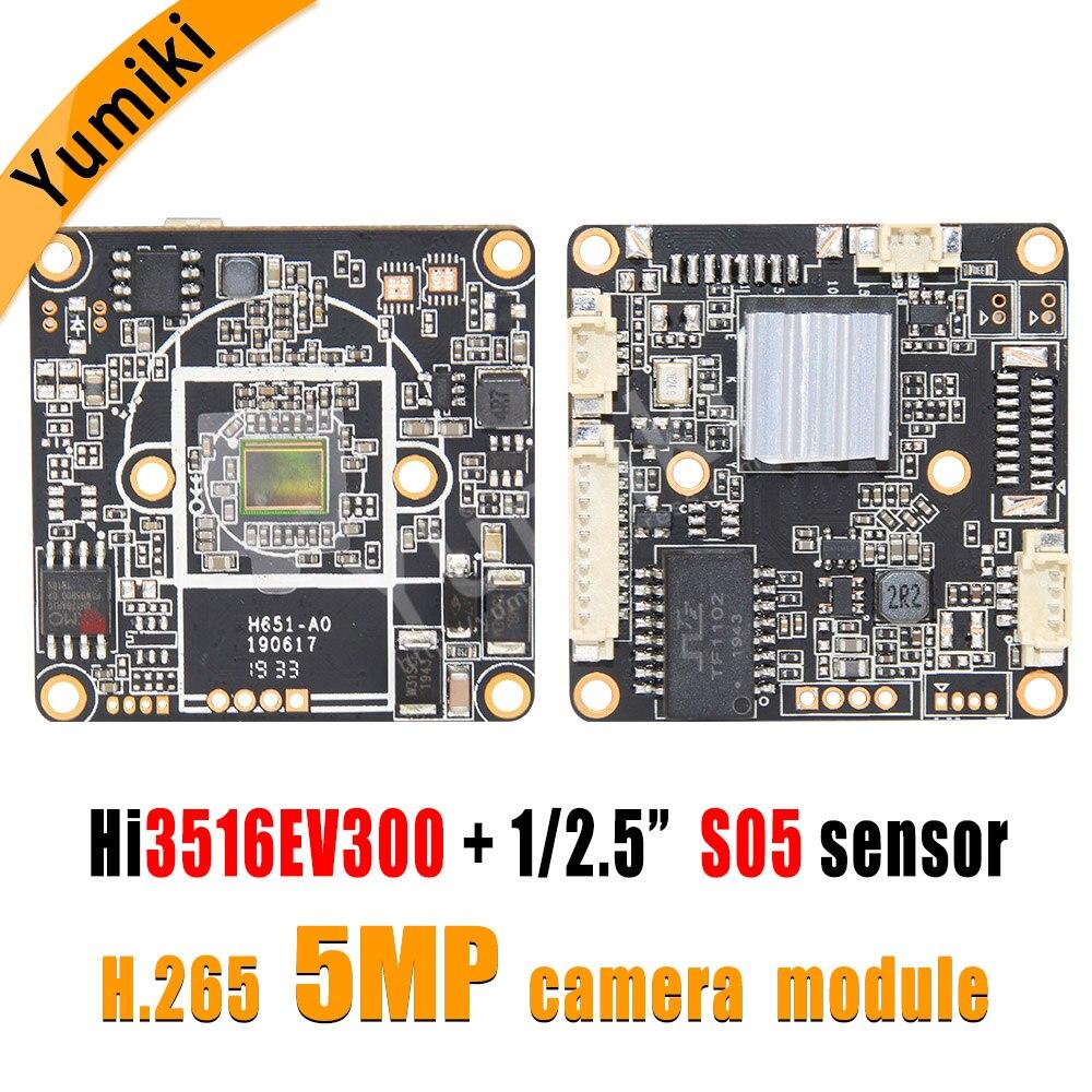 H.265/H.264 5MP Hi3516EV300+S05 1/2.5