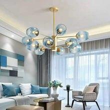 Nordic sala de estar modo led e27 pingente lustre luminarias lamparas led lustre iluminação haste pendurado luminárias