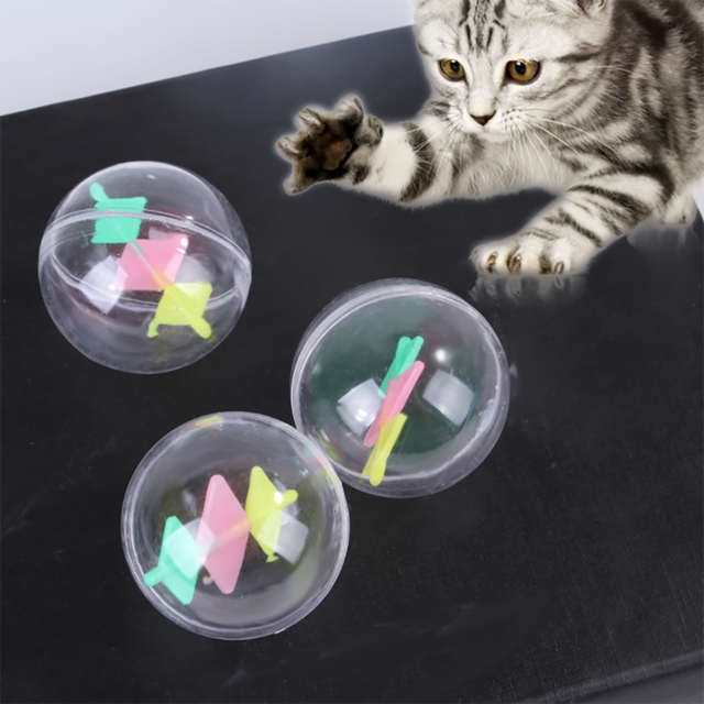 15PCS Indoor Interactive Fluffy Hut Mouse Spring Toy for Kittens 5