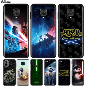 Image 1 - Silicone Cover Disney Star Wars For Xiaomi Redmi Note 10 10S 9 9C 9S Pro Max 9T 8T 8 7 6 5 Pro 5A 4X 4 Phone Case