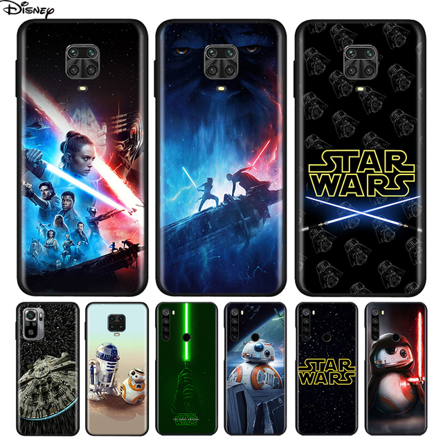 Silicone Cover Disney Star Wars For Xiaomi Redmi Note 10 10S 9 9C 9S Pro Max 9T 8T 8 7 6 5 Pro 5A 4X 4 Phone Case