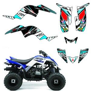 Image 1 - Full Team Decals Stickers Graphic DECO Kit ATV For Yamaha RAPTOR 90 YFM90 2009 2010 2011 2012 2013 2014 2015