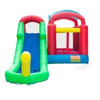 Inflatable Water Slide Pool Bouncer Castle Bounce House Jumper Castle 18.7ft x 11.6ft x 8.2ft Kids Play Castle U.S. Stock