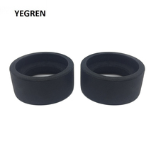 One Pair Eye Cups Foldable Rubber Guards Caps for 34-38 mm Microscope Eyepiece Telescope Inner Diameter 36 Accessory