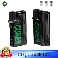 LTQ-Kit de vaporizador Original todo en uno, juego de cigarrillos electrónicos, hierba seca, cera de aceite CBD, vaporizador TC con batería de 1500mah