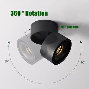 Image 3 - [DBF]360 Grad Drehbare Oberfläche Montiert Decke Downlight 7W 10W 12W 15W LED Decke spot Licht für Küche wohnzimmer Decor