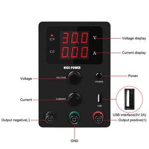 Neue High-präzision Spannung Geregelte Labor Netzteil 30 V 10A Power Lieferungen Einstellbar Spannung Und Strom Regler 30 V