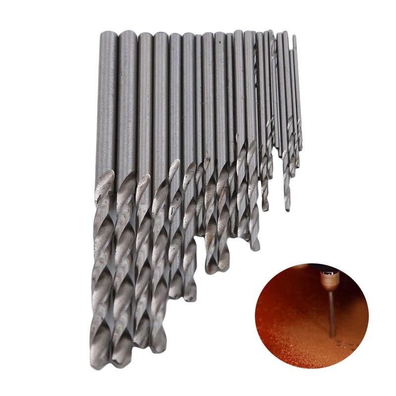 New High Quality Alloy Steel Miniature Straight Shank Twist Drill Set Bodhi Hole Drill Kit Set Tools