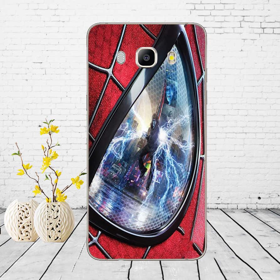 """223DD """"Человек-паук"""" Чудесные Супергерои Мягкий силиконовый чехол для Samsung Galaxy A3 a5 2017 A6 A8 2018 j3 j5 j7 2016 2017"""