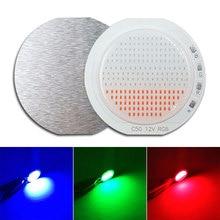 New Arrival 50mm Rounded RGB COB LED Light 12V Bulb White Re