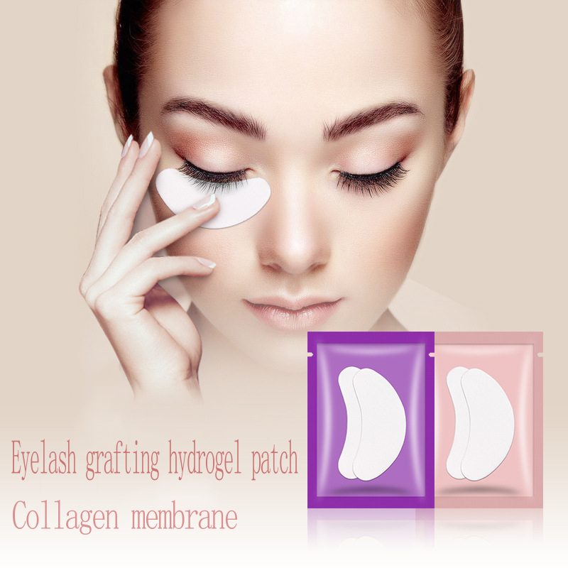 1Pairs Eyelash Extension Patches Under Eye Pads For Grafting Eyelashes Paper Eye Gel Sticker Wraps Lash Patch Makeup Tools