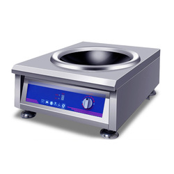3500W/5000W Induction Cooker Commercial Concave Surface Electric Cooking Machine Cooktop Waterproof Stoves