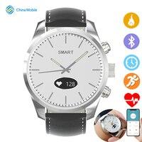 Híbrido smartwatch freqüência cardíaca monitor de pressão arterial relógio inteligente fitness rastreador sono rastreamento para ios android apple iphone|Relógios inteligentes| |  -