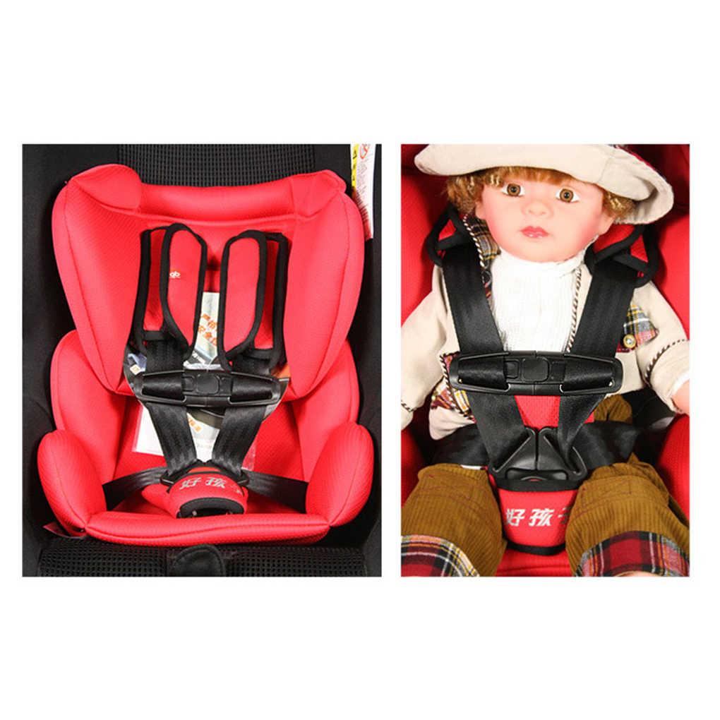 Nuevo bebé seguro bloqueo automóvil niños Clip hebilla asientos seguridad silla correas cinturón arnés nudos
