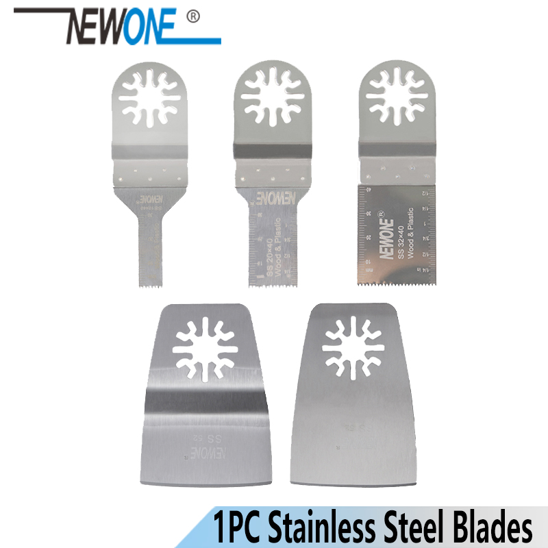 NEWONE Stainless Steel Oscillating Tool Multi Purpose Tool Saw Blades For Wood Cutting Blades Power Tool Accessories Maultmaster