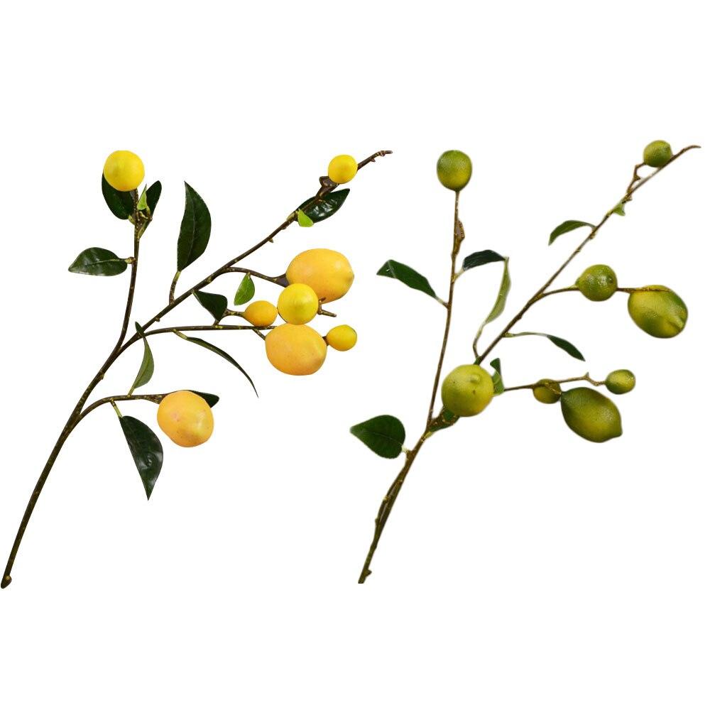 Simulación de fruta de limón Artificial barata rama de árbol plástico amarillo limón rama decoración de Navidad para el hogar Cabeza de Maniquí de lona barata Alileader para cabeza de pelucas con soporte 2 piezas tapas de cúpula negra para hacer peluca 21