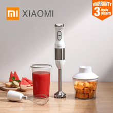 2019 New XIAOMI MIJIA QCOOKER CD-HB01 hand Blender Electric Kitchen Portable Food Processor mixer juicer Multi function Of Quick(China)
