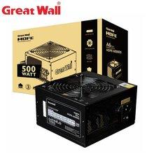 Блок питания great wall для ПК номинальная мощность 500 Вт 80plus